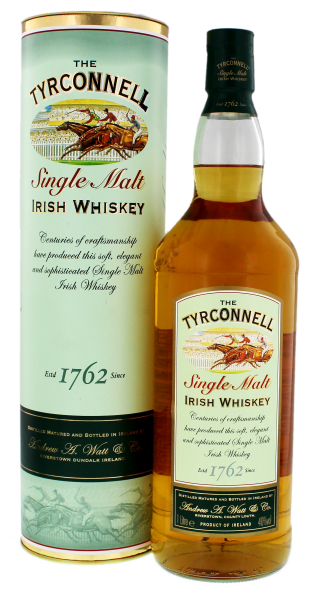 The Tyrconnell Single Malt Irish Whisky 1,0L 40%