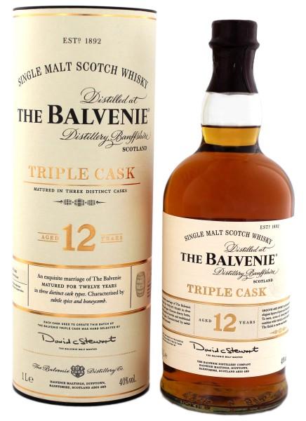 Balvenie Triple Cask Malt Whisky 12 Jahre 1,0L 40%