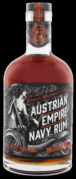 Austrian Empire Navy Rum Solera 18 Jahre