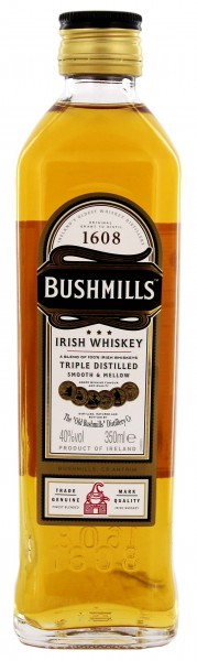Bushmills Irish Whiskey Original, 0,35 L,