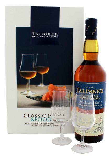 Talisker Amoroso Classic Malt 2001/2012 0,7L 45,8 % inkl 2 Gläser