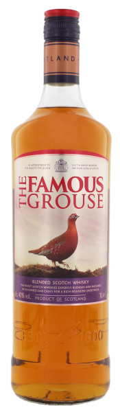 Famous Grouse Blended Scotch Whisky, 1 L, 40%