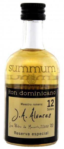 Summum Rum 12 Jahre Reserva Especial Miniatures