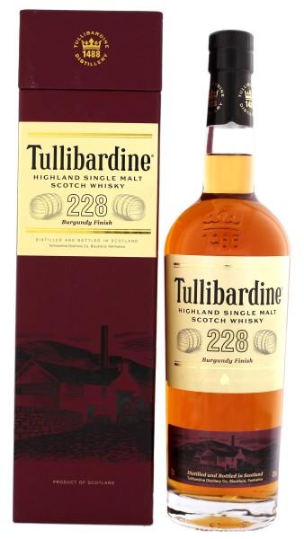 Tullibardine Single Malt Whisky 228 Burgundy Finish 0,7L 43%