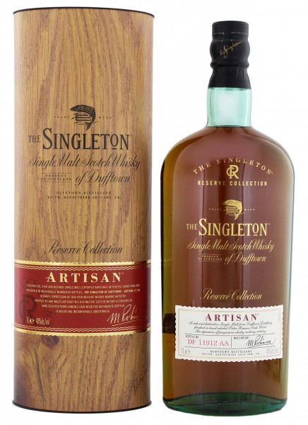 The Singleton of Dufftown Single Malt Whisky Reserve Collection Artisan 1,0L 40%
