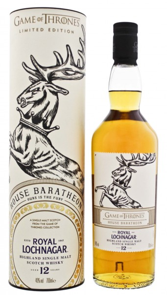 Royal Lochnagar 12 Jahre Game of Thrones House Baratheon 0,7L 40%