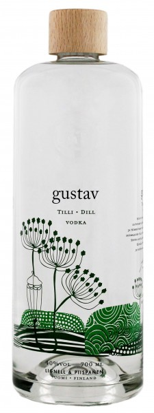 Gustav Dill Vodka, 0,7L 40%
