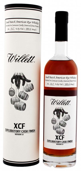 Willett XCF Rye Whiskey 7 Jahre, 0,75 L, 51,7%