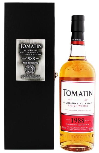 Tomatin Highland Single Malt Whisky 1988 Limited Release 0,7L 46%