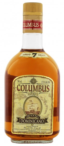 Columbus Rum Anejo 7 Years Old, 0,7 L, 37,5%
